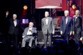 Five Former Presidents Come Together At Texas A&M For Hurricane Relief