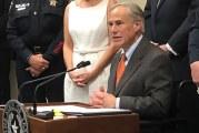 Texas Governor Greg Abbott Announces The 'Damon Allen Act'