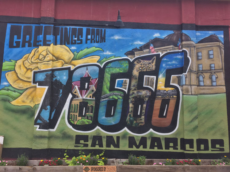 San Marcos Deadline Coming Up Fast To Find The Next Mural Artist