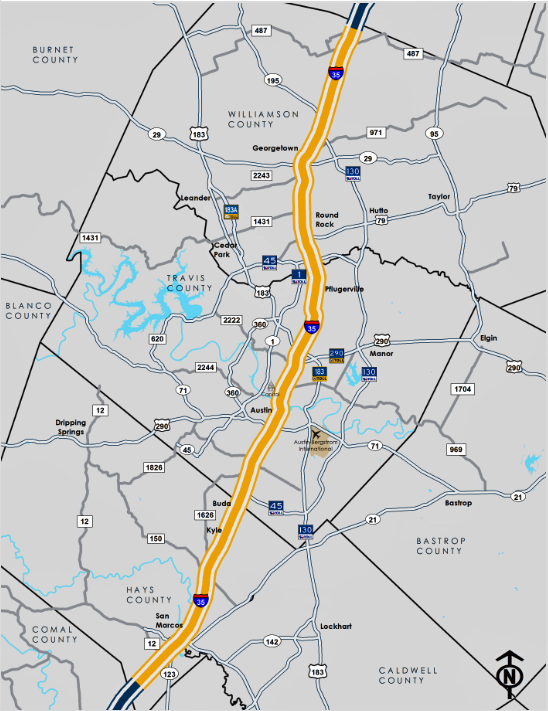 Hays County Buda Austin I 35 Closures Detours Traffic Alerts
