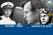 Veteran Of The Day: Navy Veteran George Herbert Walker Bush