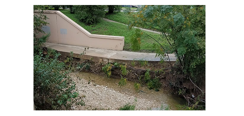 Austin Watershed Protection To Repair Erosion On Shoal Creek Trail Near 12th Street