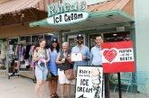 Rhea's Ice Cream Named San Marcos Main Street Program 'Partner Of The Month'