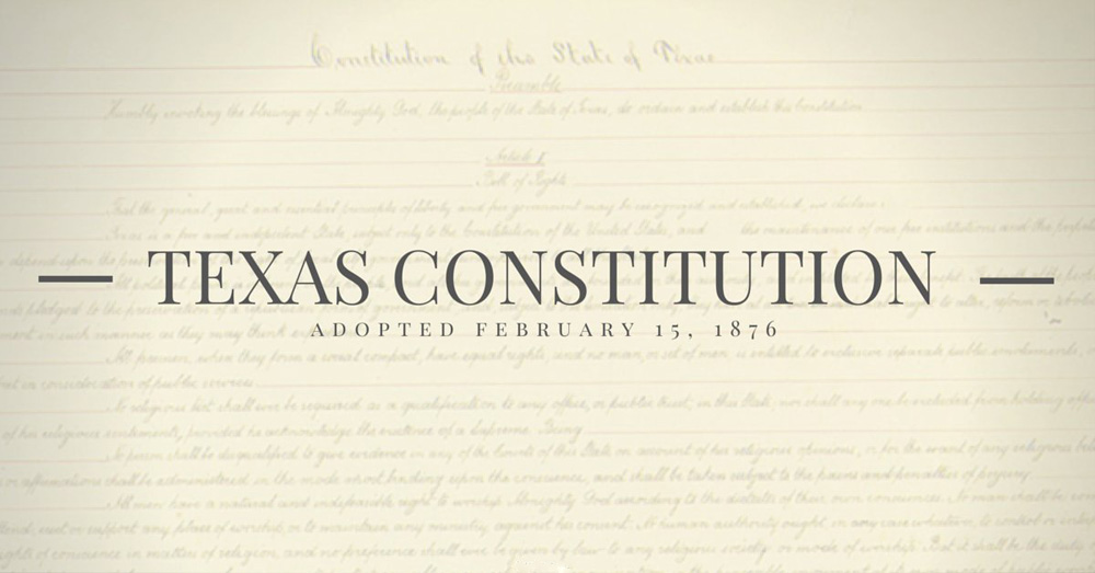 Texans To Vote On Constitutional Amendments