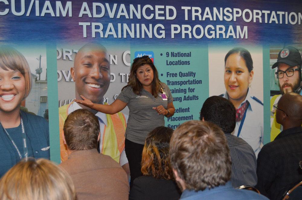 IAM, AWU Visits Gary Job Corps And More