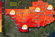 NOAA Issues Heat Advisory For Hays And Surrounding Counties