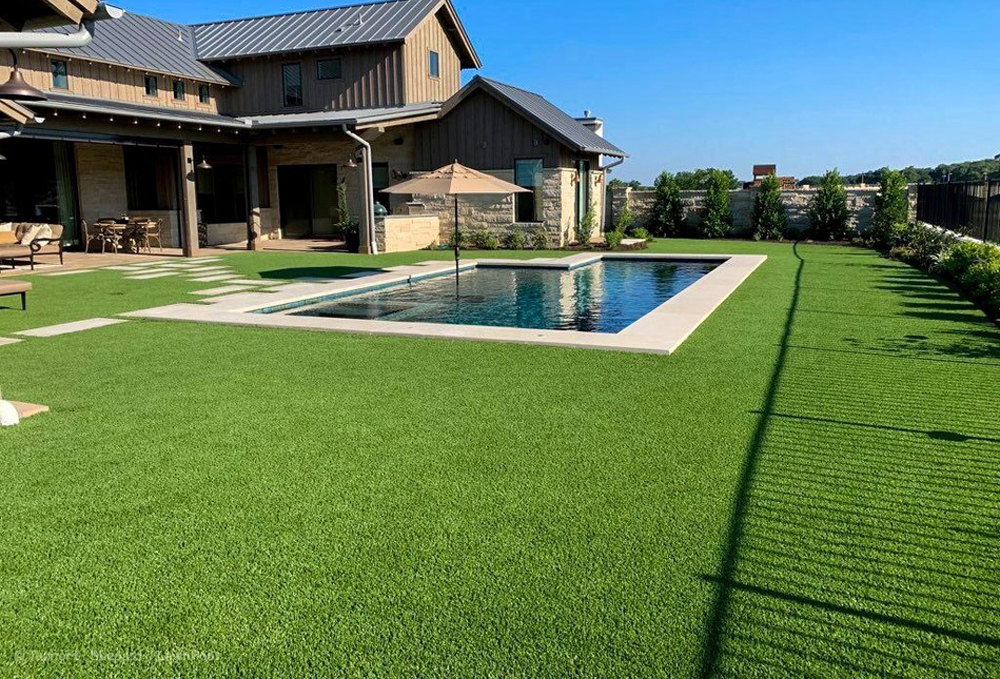 Artificial Grass Installation Optimizes Austin Home For