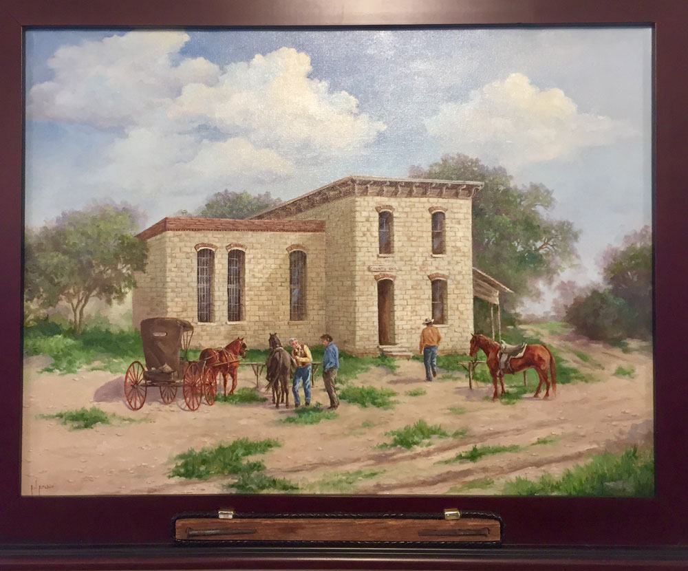 New Downtown Art Show Focuses On San Marcos & River