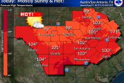 Special Heat Advisory Today, Expect The Extreme Heat Through The Weekend