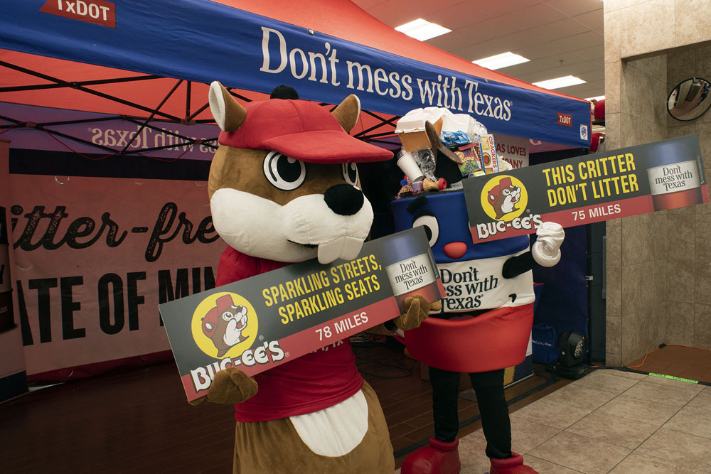 From Clean Restrooms to Clean Roadways, TxDOT And Buc-ee's Join Forces To Tackle Litter