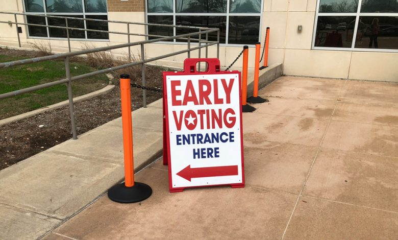 Photo of Early Voting Appears Up In Texas. It's Too Early To Know What That Means.