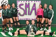 SMA Middle School Take Second At District