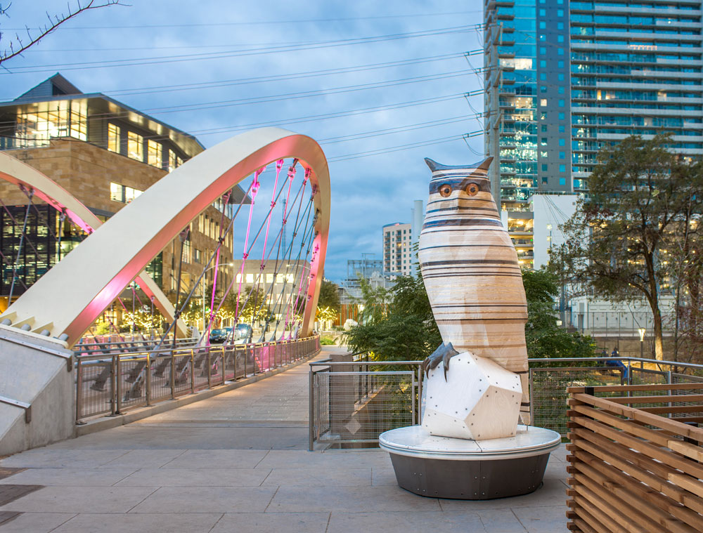Austin Art In Public Places Unveils New Downtown Sculpture With Secret Interactive Feature
