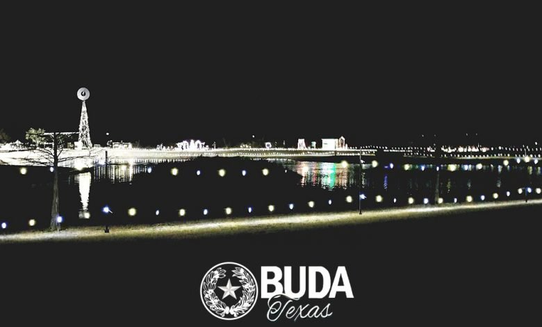 Photo of One Weekend Left For Buda's Trail Of Lights At Stagecoach Park