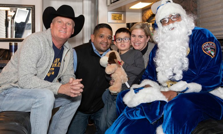 Photo of Local Law Firm Donates 1,200 Toys To San Marcos PD Blue Santa Initiative