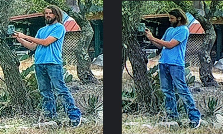 Photo of Do You Know This Man: Victim's Game Camera Captures A Hays County Property Crime In Progress
