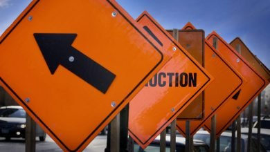 Photo of Road Work Causes Lane Closures On Mathias Lane Near Kyle
