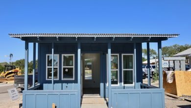 Photo of HomeAid Austin Partners With Local Homebuilders To Construct 8 Tiny Homes For Chronically Homeless