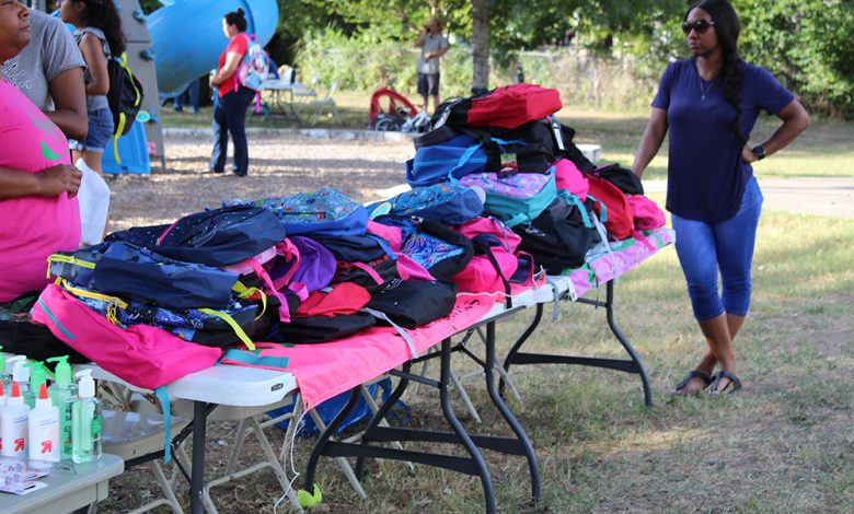 Photo of San Marcos Schedules Community Backpack Giveaway