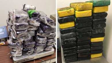 Photo of Weekly Texas Border Summary: CBP Arrest Five Convicted Felons, MS-13 Gang Member, Seize Over $6 Million In Drugs