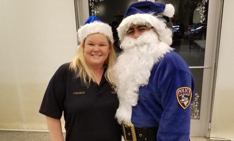 Photo of SMPD Kicks Off Blue Santa Season, Donations Needed